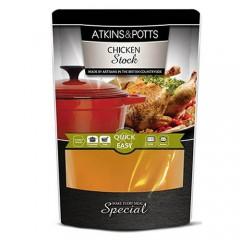 Atkins & Potts Chicken Stock 350ml