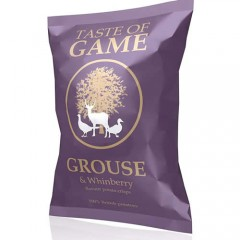 A Taste of Game Grouse & Whinberry crisps 150g