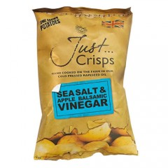 Just Crisps Sea Salt & Apple Balsamic Vinegar 150g