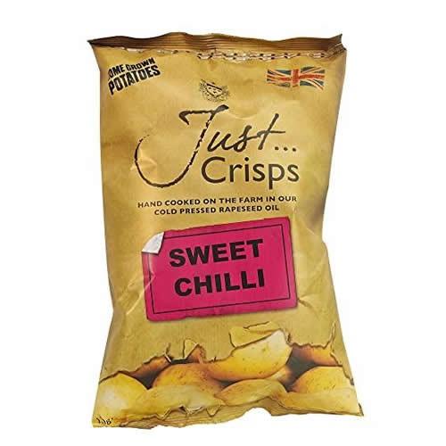Just Crisps Sweet Chilli 150g