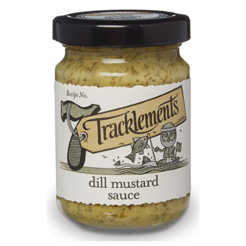 Tracklements Dill Mustard Sauce 140g