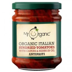 Mr Organic Italian Sun Dried Tomatoes 190g