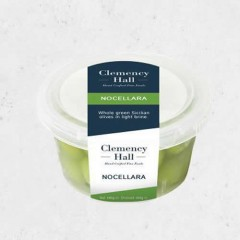 Clemency Hall Nocellara Olives 180g