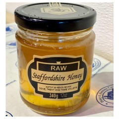 Shaw's Raw Staffordshire Honey 340g