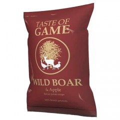A Taste of Game Wild Boar & Apple Crisps 150g