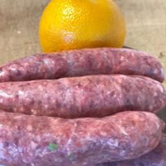 Venison & Orange Sausages 500g