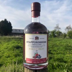 Staffordshire Distilleries Fruits of the Forest Gin 70cl