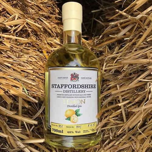 Staffordshire Distilleries Lemon Gin 70cl