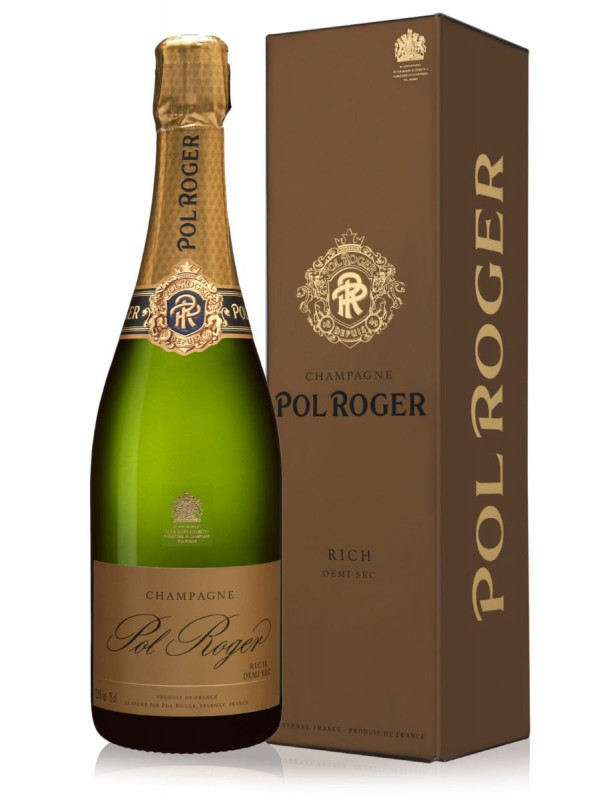 Pol Roger Demi Sec Champagne 75cl