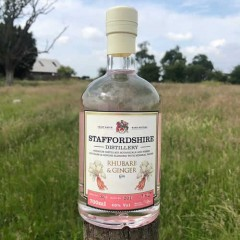 Staffordshire Distilleries Rhubarb & Ginger Gin 70cl