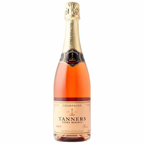 Tanners Extra Reserve Rosé Brut Champagne 75cl