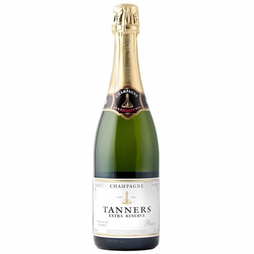 Tanners Extra Reserve Brut Champagne 75cl