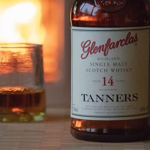 Tanners Glenfarclas Highland Single Malt 70cl