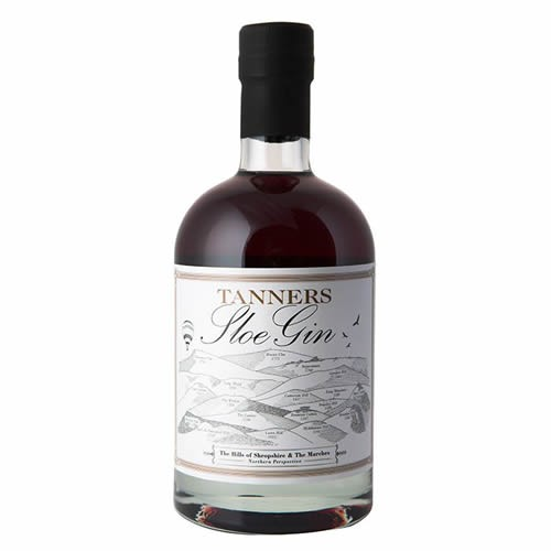 Tanners Sloe Gin 70cl